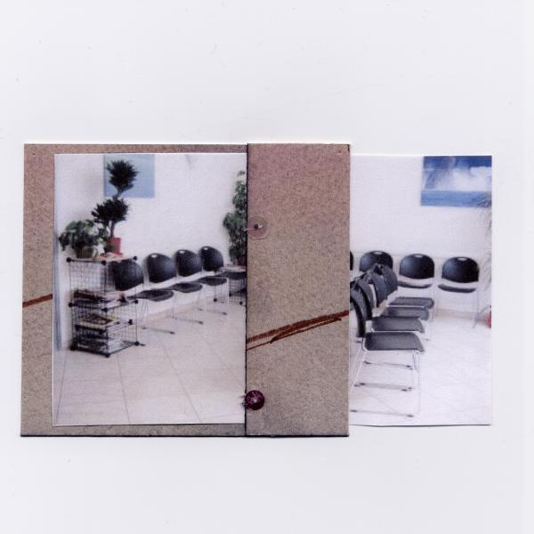 CGB MACBA #6 2009 11,3 x 7,1 cm watercolor, sequins, ink-jet print on paper